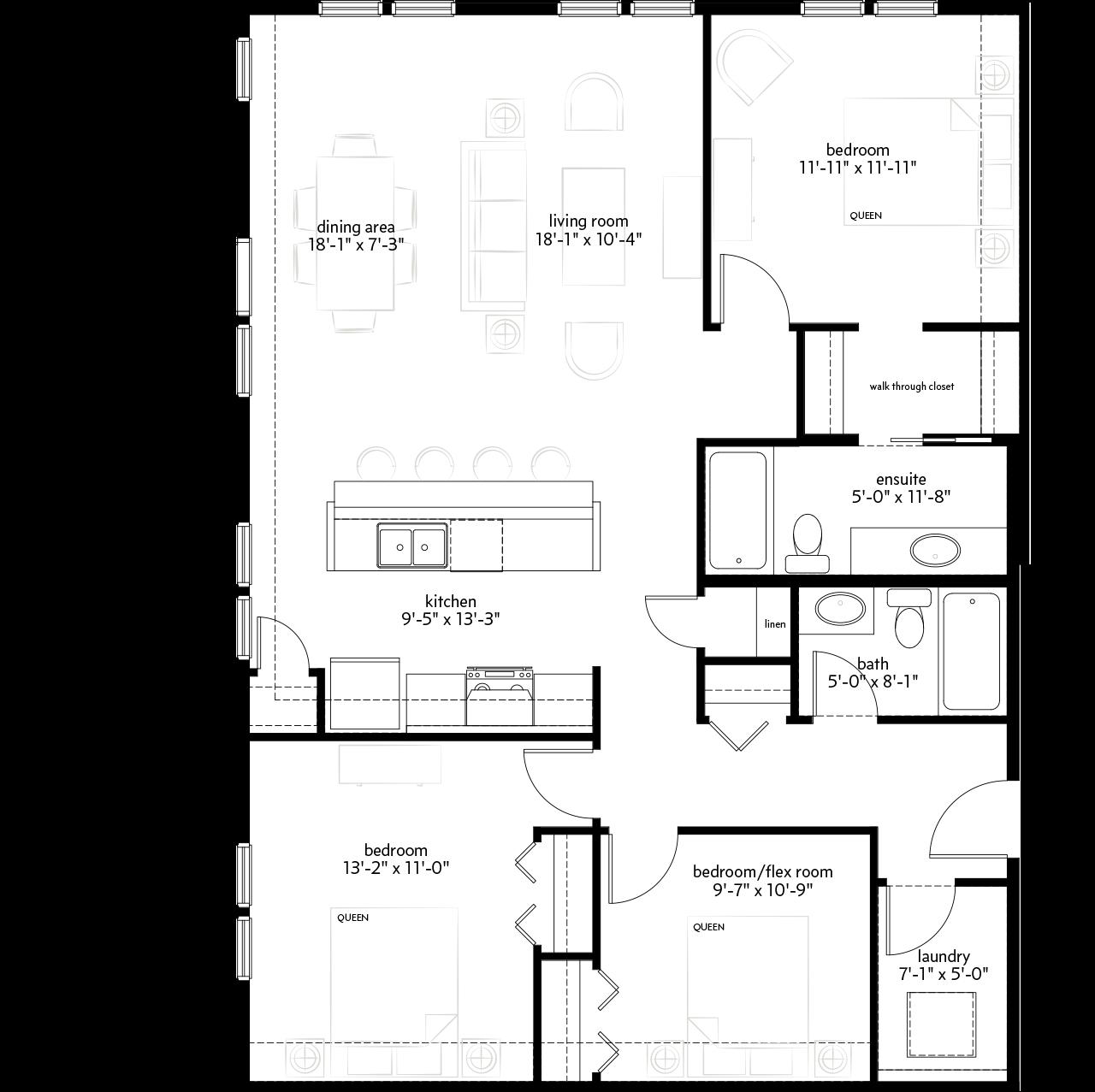 Sandgate Condo Floorplans  Hopewell Sandgate